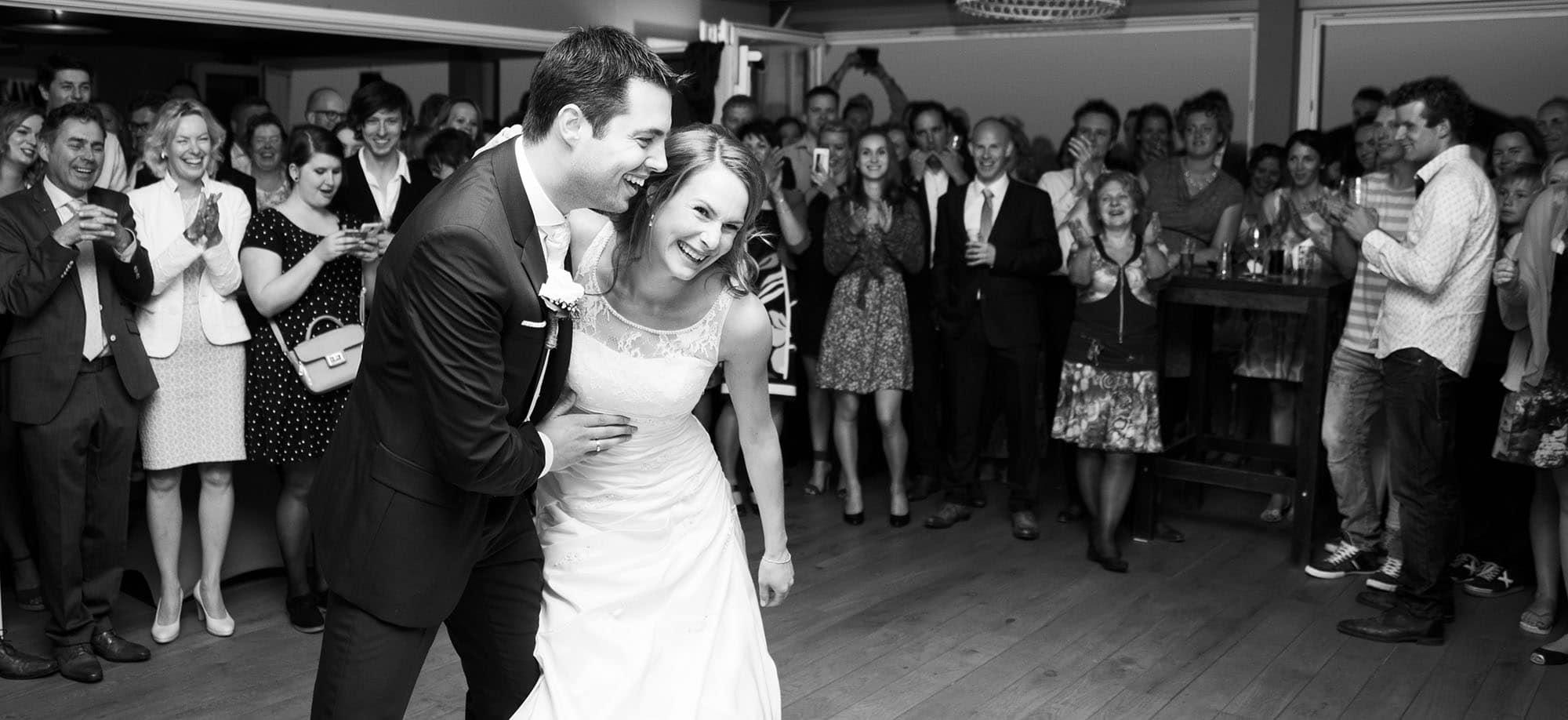 Bruiloftfotograaf feest denbosch