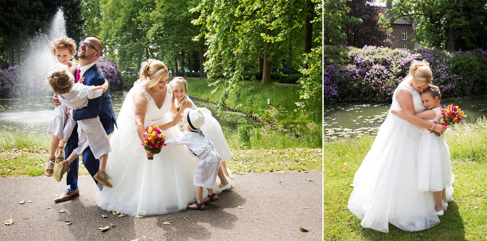 bruidsreportage buiten fotograaf