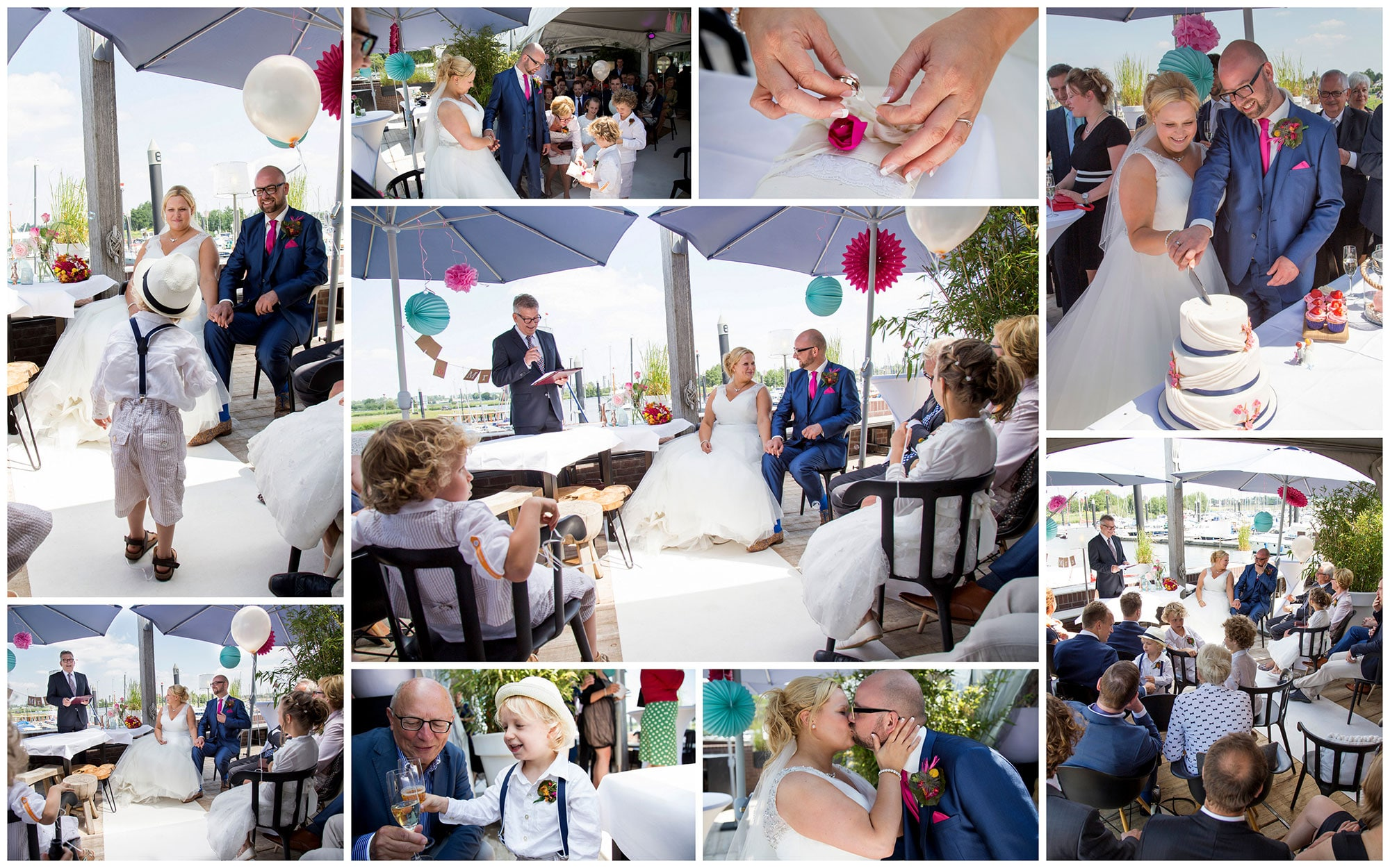 spontane trouwfotograaf ceremonie