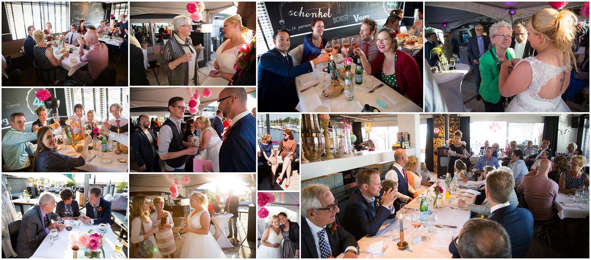 spontane trouwfotograaf feest