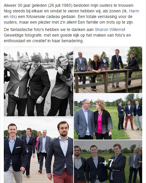 Facebook Fotoshoot Utrecht