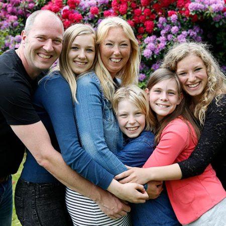 familie fotoshoot nijmegen vierkant
