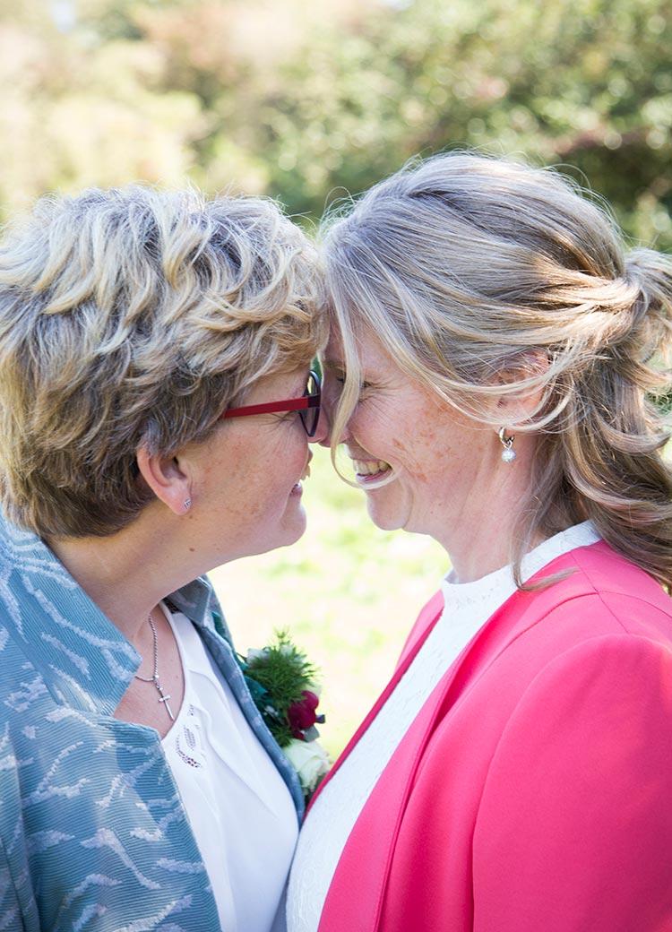 bruidsfotograaf twee vrouwen
