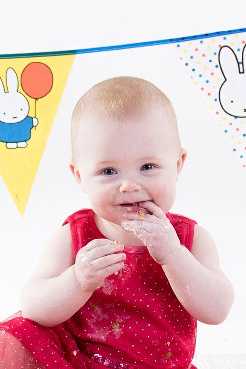 fotoshoot baby 1 jaar