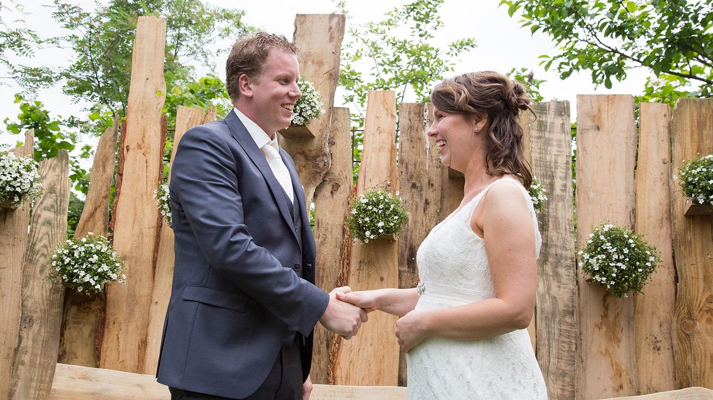 buiten bruiloft fotograaf
