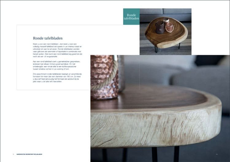 professionele fotografie brochure