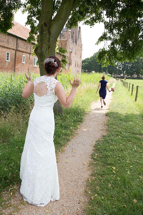 grappige bruiloftfoto's
