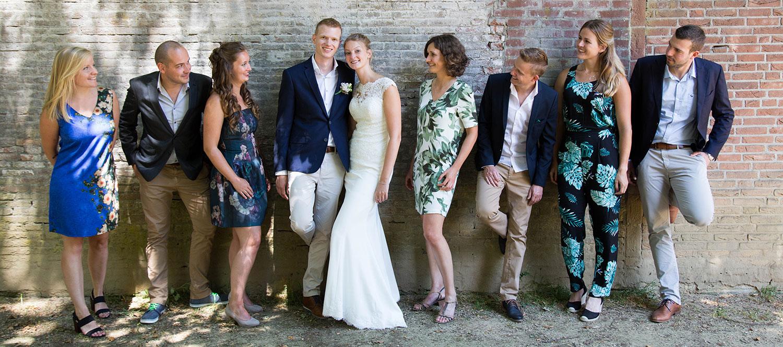 bruidsmeidjes trouwfotografie