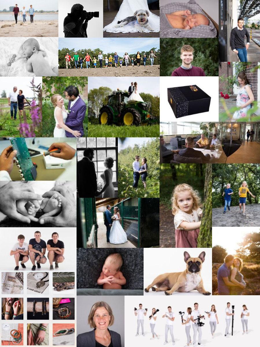 fotograaf zeeland collage studio