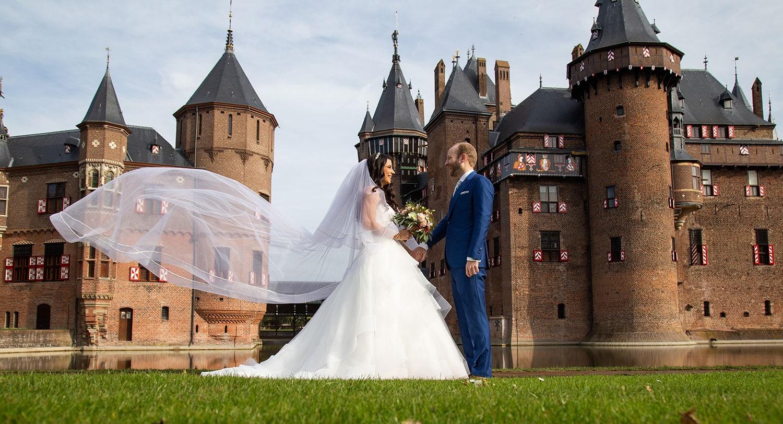 Bruiloft Utrecht Kasteel De Haar