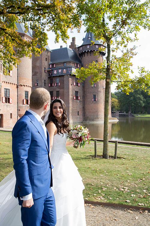 bruiloft kasteel De Haar