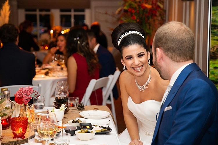 ongedwongen trouwfoto's