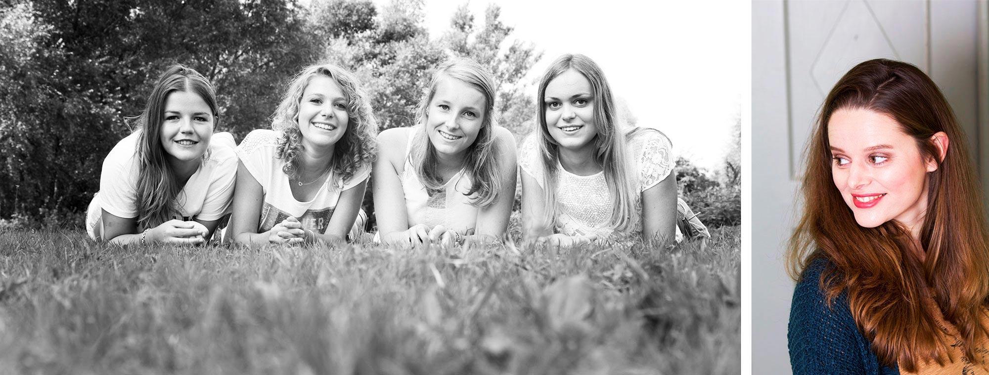 vriendinnenfotoshoot buiten denbosch sharonwillems