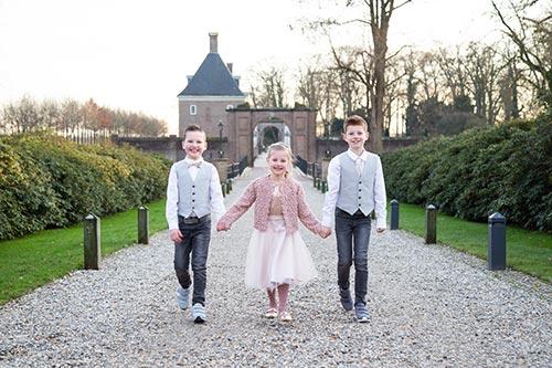 trouwreportage met kleine kinderen
