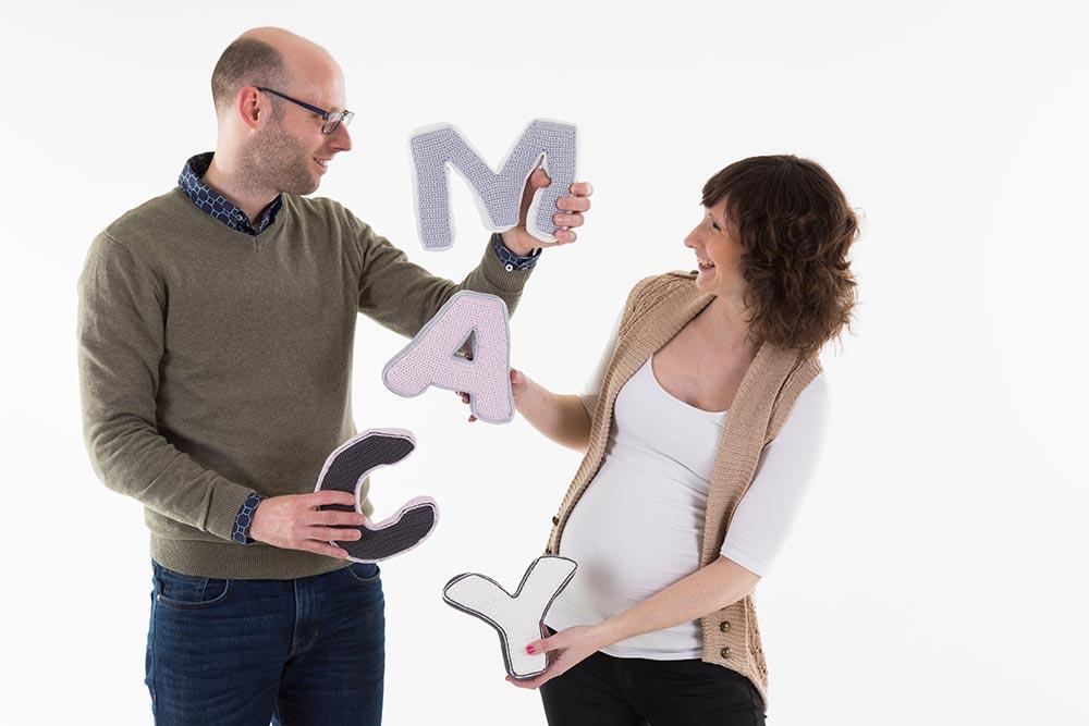 zwangerschapsshoot studio