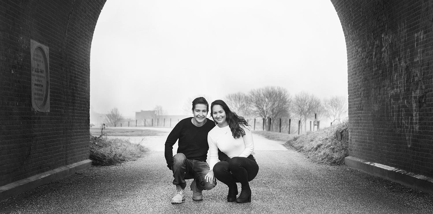 fotoshoot broer en zus