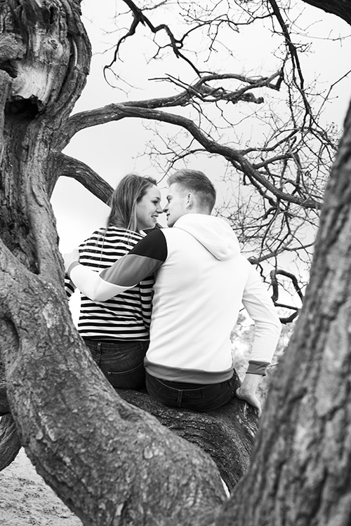 fotoshoot met vriendje buiten