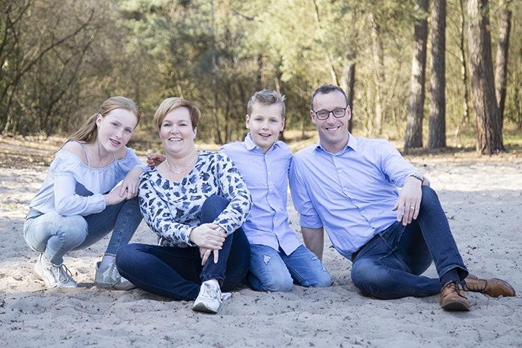 Familliefotograaf uden
