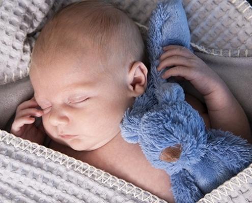 Newborn fotograaf aan huis in mill