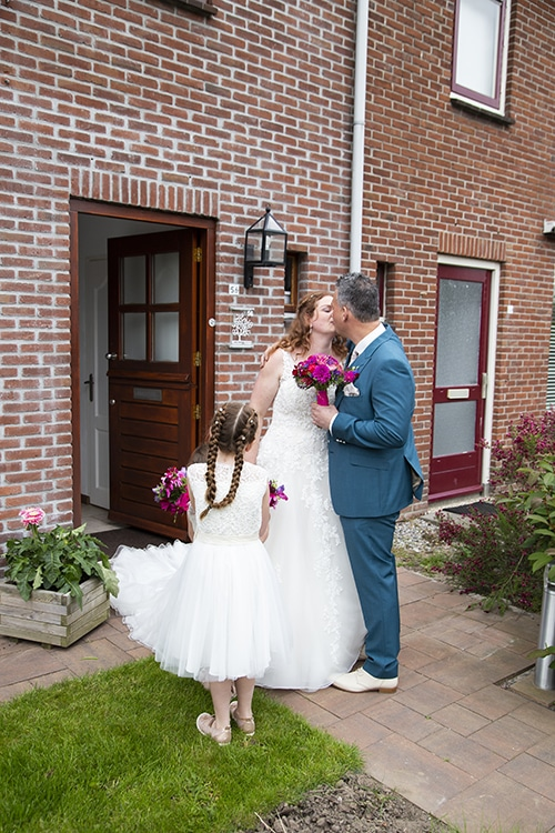 bruiloft foto spontaan