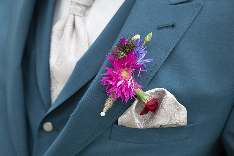 detail foto bruiloft