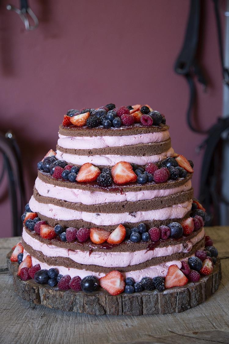 foto taart bruiloft