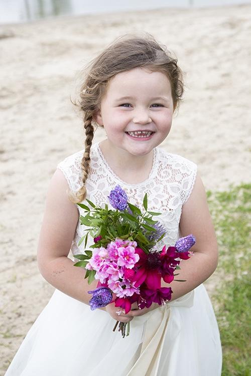 fotoshoot kinderen bruidspaar