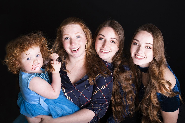 fotoshoot zussen familie