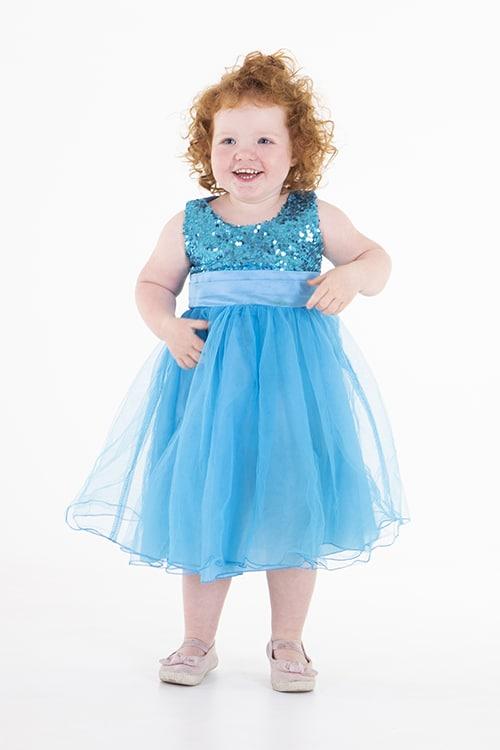 meisje schattig jurk