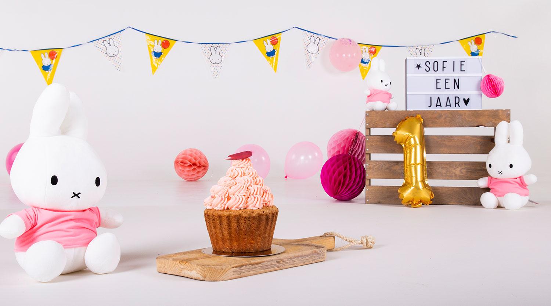 cake smash decoratie fotostudio