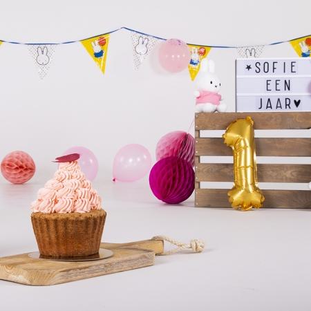 cake smash fotoshoot in studio
