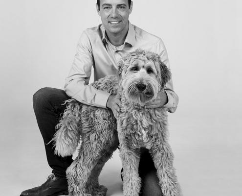 portretfoto's met hond