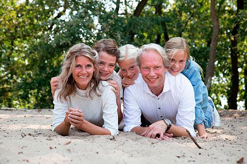 spontane gezinsfotografie