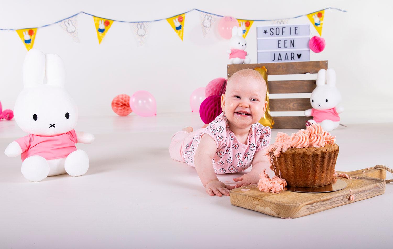 uitnodiging eerste verjaardag foto