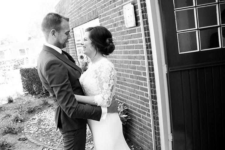 professionele bruidsreportage