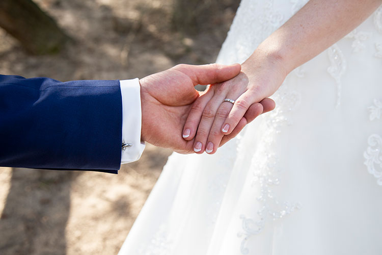 unieke trouwfoto's