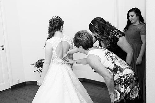 voorbereidingen bruiloft fotograaf