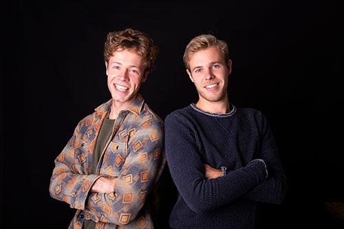 broers foto in studio