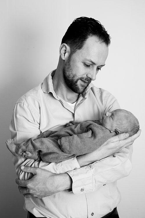 pasgeboren baby fotografie