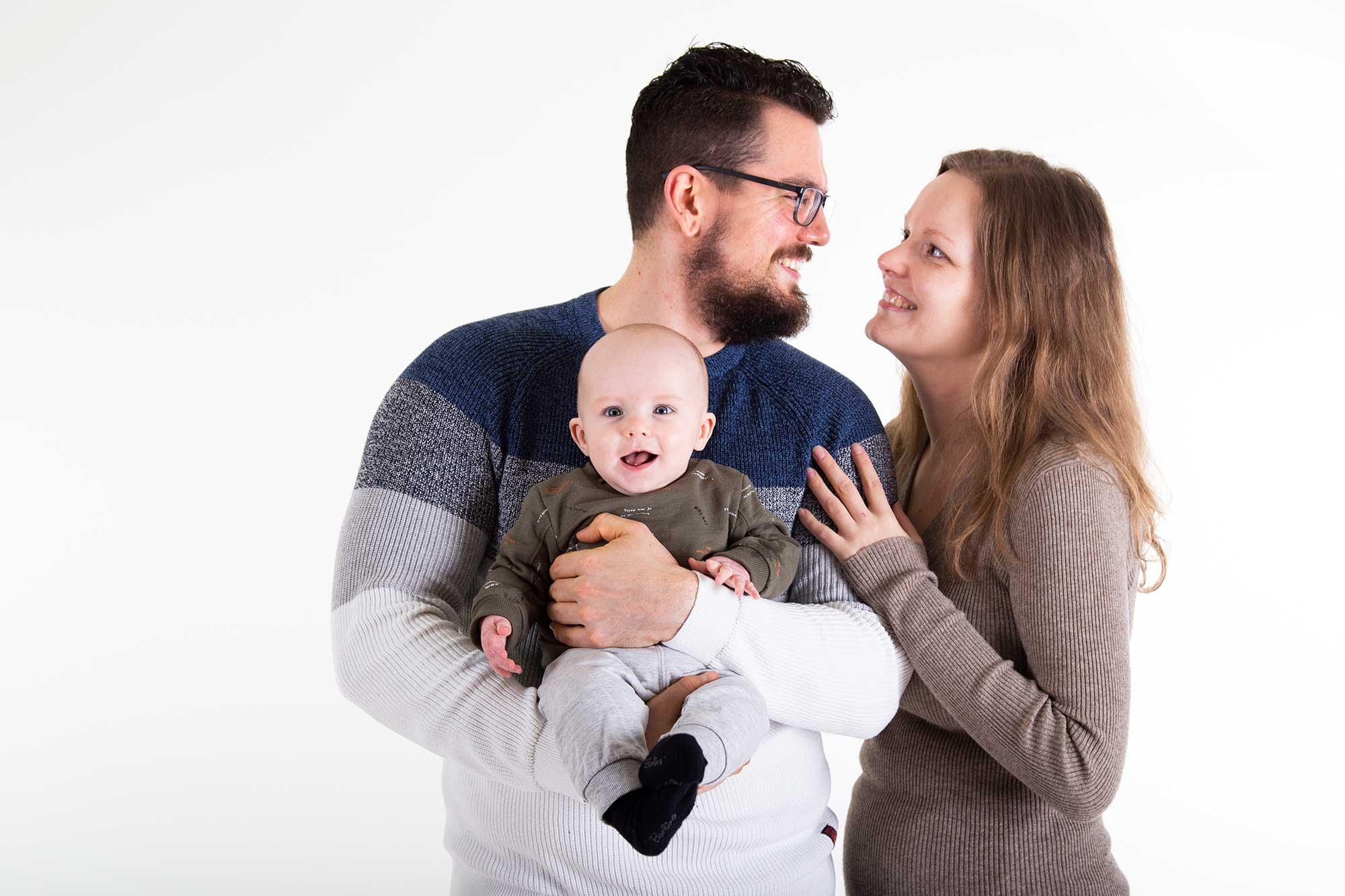 professionele fotoshoot kindje vijf maanden